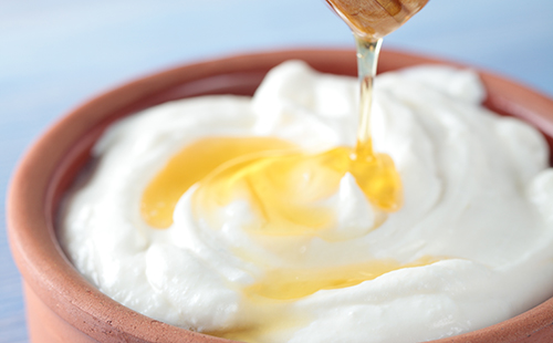 Yaourt au soja et miel