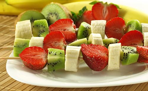 Mikado de fruits