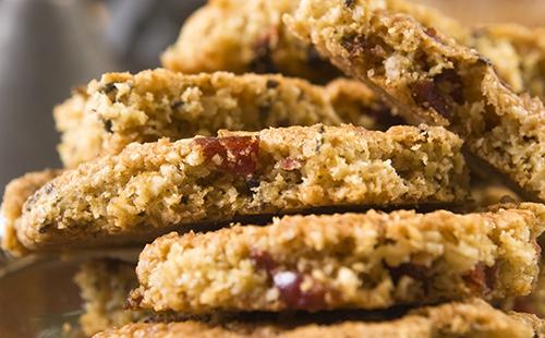 Cookies salés au chorizo et tomates séchées