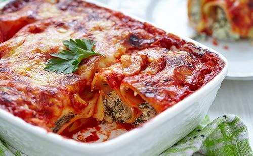 Cannelloni à la Florentine