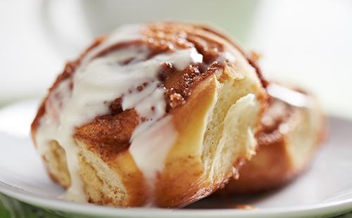 Cinnamon rolls au fromage à la crème