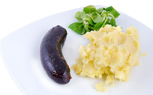 Wecook boudin noir et pur e de pommes de terre maison - Puree pomme de terre maison ...