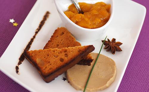 wecook foie gras po l et sa compot e pomme mangue. Black Bedroom Furniture Sets. Home Design Ideas