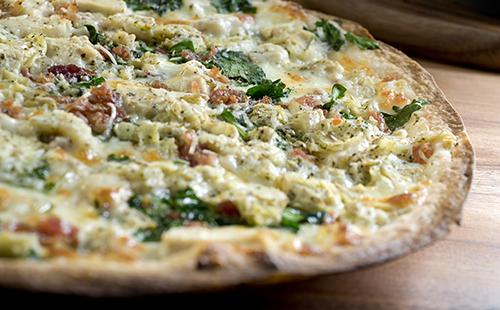 Pizza arti-chèvre