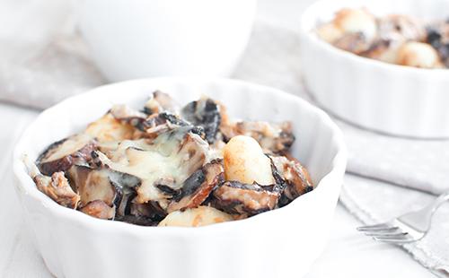 Gnocchis champignon/basilic