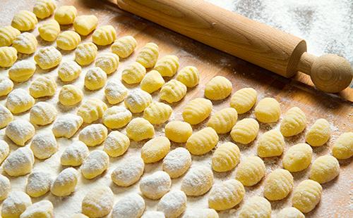 Gnocchis maison au parmesan