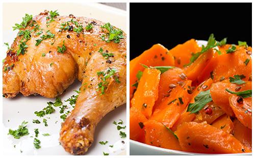 Wecook cuisses de poulet et carottes - Cuisse de poulet calories ...