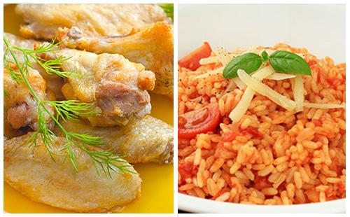 Wecook pilons de poulet et riz la tomate - Pilon de poulet a la poele ...
