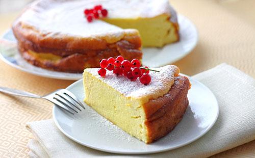 Cheesecake italien