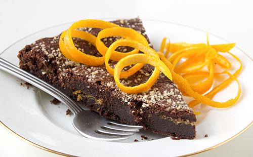 Fondant chocolat clémentine