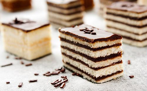 Cake façon financier au praliné