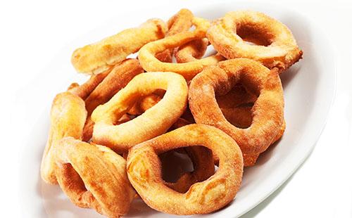 Sel roti (beignet népalais)