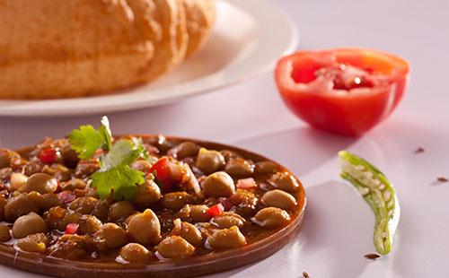 Chole (curry de pois chiche)