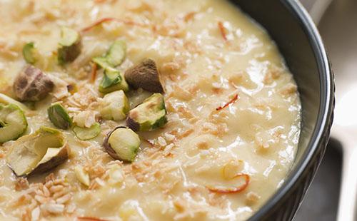 Phirni (riz au lait indien)