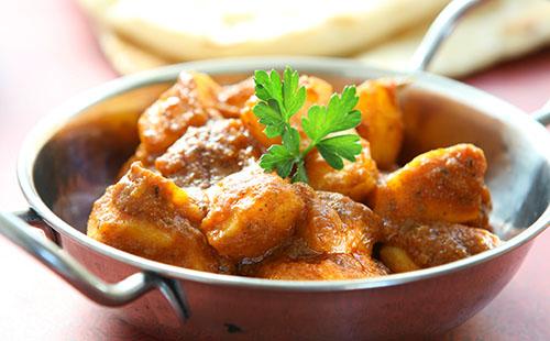 Dum aloo (curry de pomme de terre)