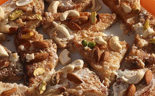 Sohan halwa (pâtisserie indienne)