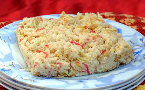 Ghevar (dessert du Rajasthan)