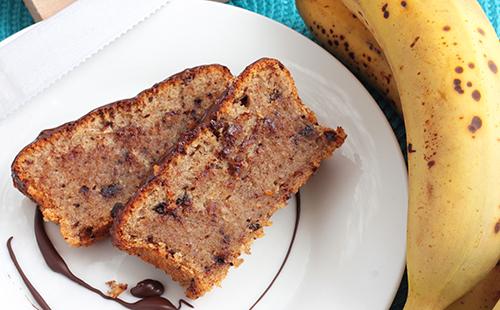 Moelleux choco banane