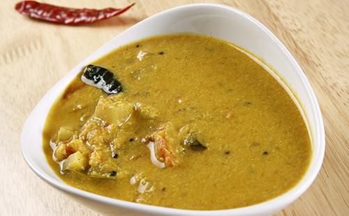 Pachadi (concombres cuits au yaourt)