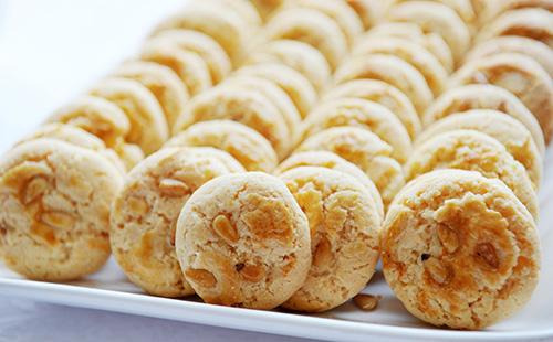 Cookies aux pignons de pin