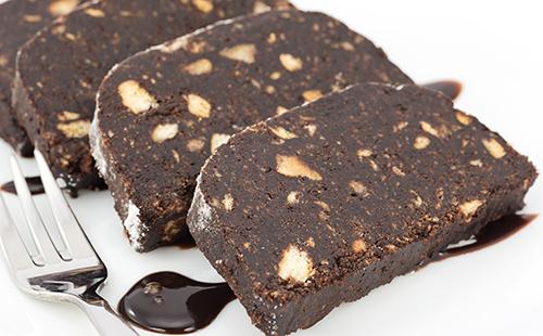 Pavé au chocolat