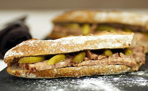 Sandwich Au Pat 233 De Campagne Wecook