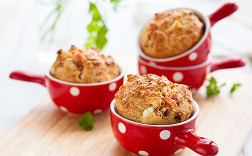 Muffins de brocolis au chèvre