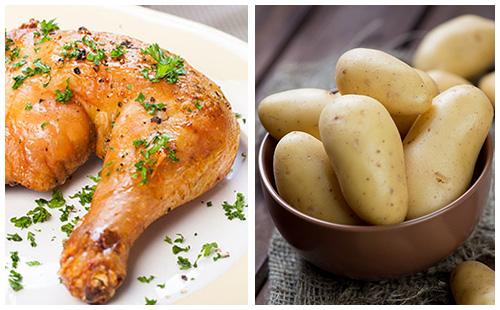 Poulet aux olives wecook - Cuisse de poulet calories ...