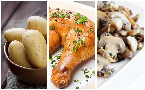 Wecook cuisse de poulet aux pommes de terre et - Cuisse de poulet calories ...