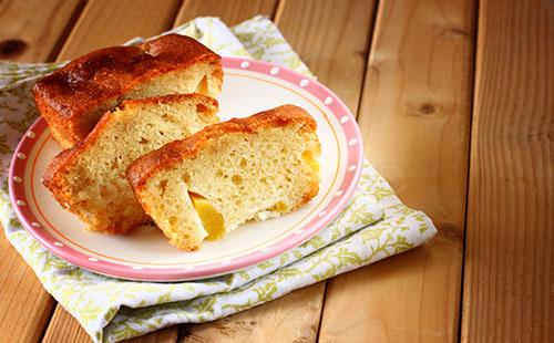 Cake abricot-banane-miel
