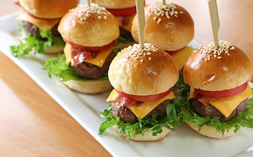 Mini hamburger maison