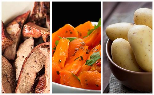 wecook foie de veau aux carottes et pommes de terre. Black Bedroom Furniture Sets. Home Design Ideas