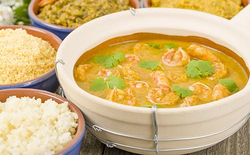 Vatapa (curry brésilien de crevette)