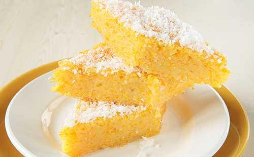 Pudding tapioca-coco (Cuscuz branco)