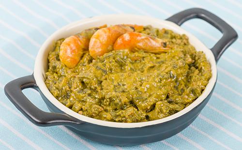 Caruru (curry de gombos et crevettes)