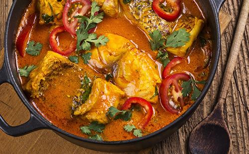 Pirão de peixe (ragoût brésilien de poisson)
