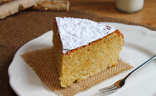 Cake à la farine de châtaigne