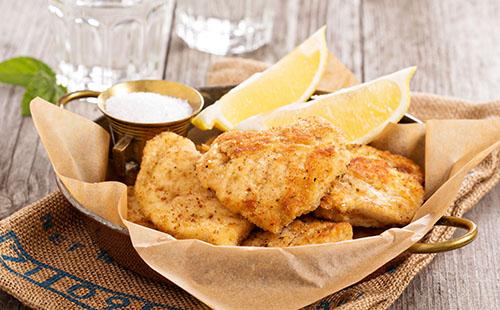 Nuggets de poisson sans gluten