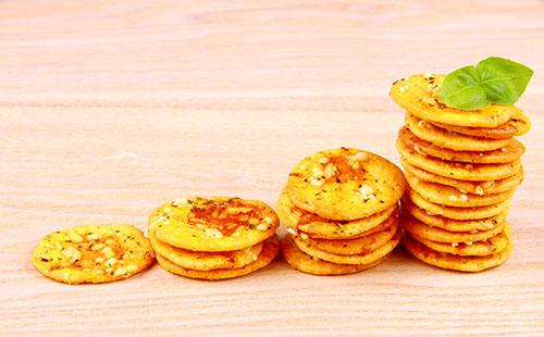 Crackers mini pizza maison