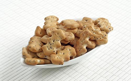 Crackers au sésame et pavot (triangolini)