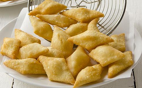 Panzarotti (beignets de riz corses)