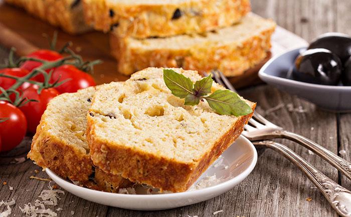 Cake aux anchois