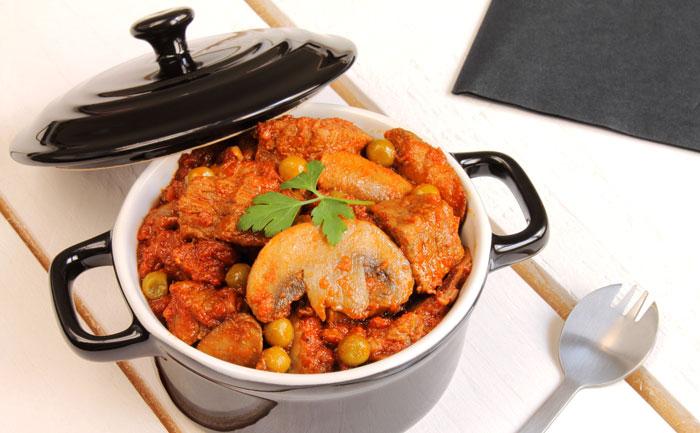 Wecook saut de porc au paprika petits pois - Saute de porc cocotte minute ...