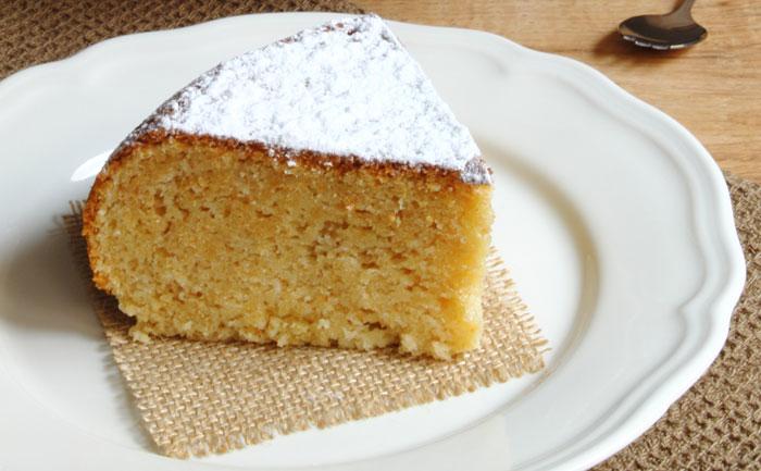 Cake au citron à la farine de châtaigne
