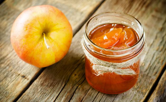 Gelée de pommes au cidre