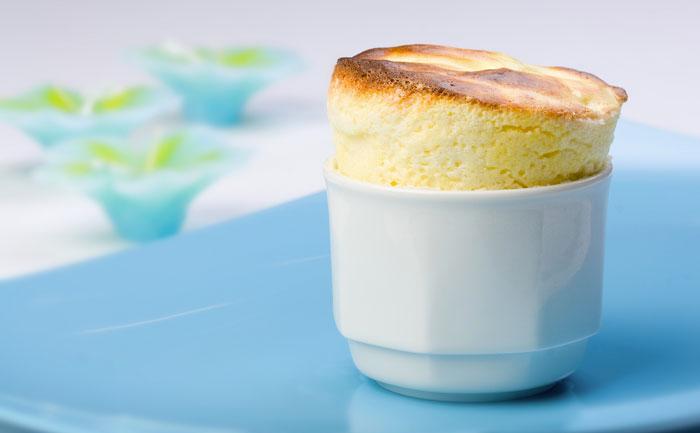 Soufflé au fromage sans gluten
