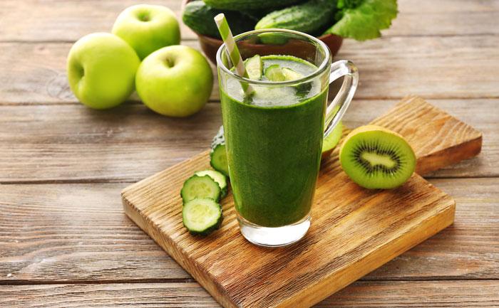 Jus d tox ananas kiwi wecook - Recette jus detox ...