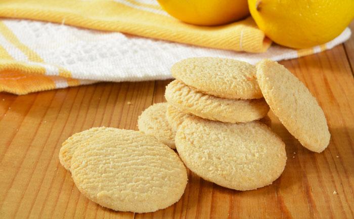 Biscuits légers au citron sans gluten