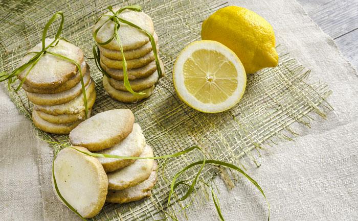 Biscuits légers aux zestes de citron