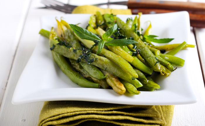 Salade de haricots verts détox